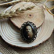 Украшения handmade. Livemaster - original item Brooch bronze F. M. Dostoevsky. Handmade.