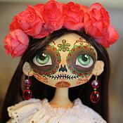 Куклы и игрушки ручной работы. Ярмарка Мастеров - ручная работа Интерьерная  текстильная кукла Муэрточка.. Handmade.