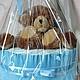Подарки для новорожденных, ручной работы. Ярмарка Мастеров - ручная работа. Купить Торт юному джнтельмену. Handmade. Торт из памперсов, малышка