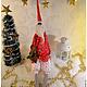 Куклы Тильды ручной работы. Ярмарка Мастеров - ручная работа. Купить Тильда Санта Клаус. Handmade. Ярко-красный, поликоттон