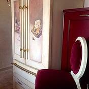 Дизайн и реклама ручной работы. Ярмарка Мастеров - ручная работа Роспись холодильника прованс. Handmade.