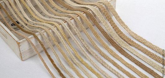 """Шитье ручной работы. Ярмарка Мастеров - ручная работа. Купить Шнуры """"Косичка"""", 29 видов. Handmade. Шитье, джут"""