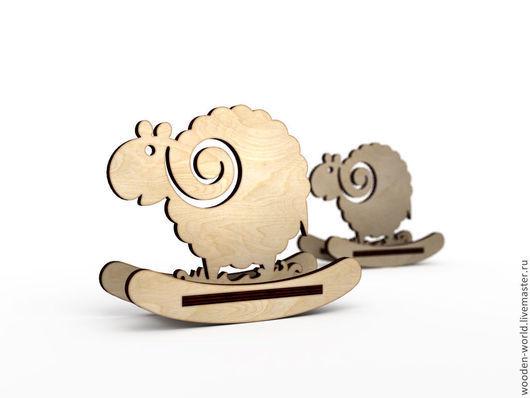 Декупаж и роспись ручной работы. Ярмарка Мастеров - ручная работа. Купить Барашки качалки заготовка. Handmade. Баран, барашек, овца