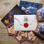 Канцелярские товары handmade. Livemaster - original item A letter from Hogwarts (2nd year). Handmade.