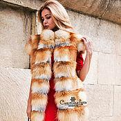 Одежда handmade. Livemaster - original item Vest Fox. Handmade.