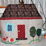 """Для дома и интерьера ручной работы. Ярмарка Мастеров - ручная работа Грелка для чайника. """"Домик для Наф-Нафа"""". Handmade."""