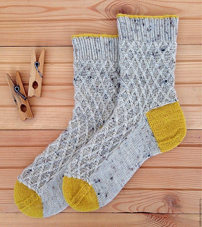 Тему вязание спицами носки