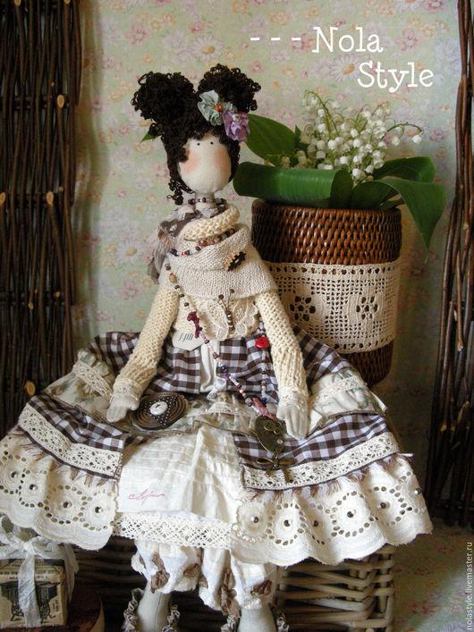 Коллекционные куклы ручной работы. Ярмарка Мастеров - ручная работа. Купить BOHO - - -. Handmade. Коричневый, бохо-стиль, бохо-шик