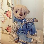 Куклы и игрушки ручной работы. Ярмарка Мастеров - ручная работа Мишка тедди Матвейка.. Handmade.