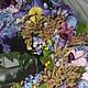 """Повязки ручной работы. ободок веночек """"ФИАЛОК ЦВЕТ"""". эксклюзивная одежда с вышивкой (mirinna). Интернет-магазин Ярмарка Мастеров. Ободок"""