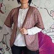 Одежда ручной работы. Ярмарка Мастеров - ручная работа жилет из кид-мохера. Handmade.