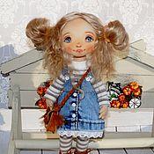 Куклы и пупсы ручной работы. Ярмарка Мастеров - ручная работа Куклы и пупсы: Кукла Даша. Handmade.