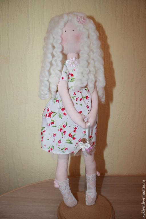 Коллекционные куклы ручной работы. Ярмарка Мастеров - ручная работа. Купить Кукла ручной работы.С кудрявыми волосами. Handmade.