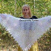 Аксессуары handmade. Livemaster - original item Openwork down scarf