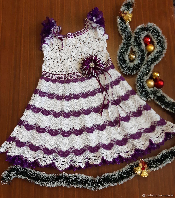 Платье Фиалка, Платья, Мантурово,  Фото №1
