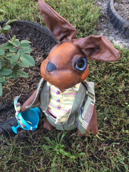 Игрушки животные, ручной работы. Ярмарка Мастеров - ручная работа. Купить Авторский кролик Бенджамин. Handmade. Кролик, подарок подруге