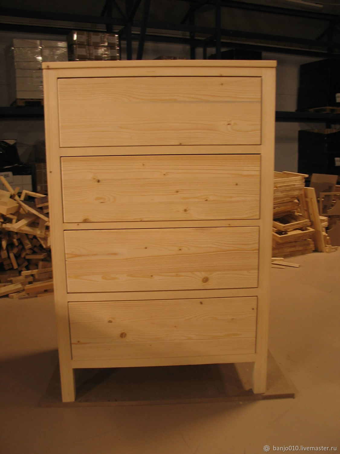 Chest of drawers made of pine, Dressers, Lyubertsy,  Фото №1