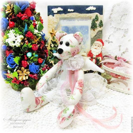 Куклы Тильды ручной работы. Ярмарка Мастеров - ручная работа. Купить Тильда мишка. Handmade. Тильда мишка, сердце, подарок