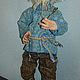 Сказочные персонажи ручной работы. Кукла Домовой Федор. Александрова Стася. Ярмарка Мастеров. Домовой в каждый дом, домовой оберег