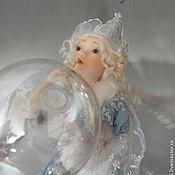 """Куклы и игрушки ручной работы. Ярмарка Мастеров - ручная работа Кукла """"Зимний эльфик"""". Handmade."""