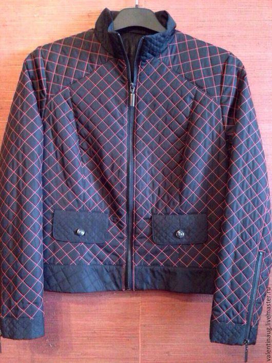 """Верхняя одежда ручной работы. Ярмарка Мастеров - ручная работа. Купить Куртка""""Моднявая"""". Handmade. Черный, женская одежда, парка"""