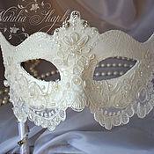 Сувениры и подарки handmade. Livemaster - original item A wedding Venetian mask. Handmade.