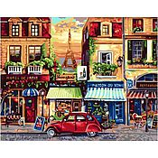 """Картины и панно ручной работы. Ярмарка Мастеров - ручная работа Раскраска по номерам """"Окно в Европу"""". Handmade."""