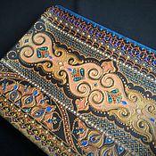 Посуда ручной работы. Ярмарка Мастеров - ручная работа Панно керамическое Patterns. Handmade.