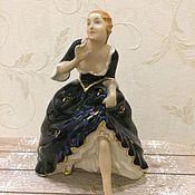 "Винтаж ручной работы. Ярмарка Мастеров - ручная работа Винтажная статуэтка ""Золушка"", Royal Dux. Handmade."