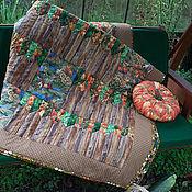 """Для дома и интерьера ручной работы. Ярмарка Мастеров - ручная работа Лоскутное одеяло """"За околицей"""". Handmade."""