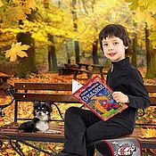 """Фото ручной работы. Ярмарка Мастеров - ручная работа Фотошаблон """"В осеннем парке"""". Handmade."""