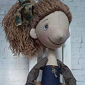 Куклы и игрушки ручной работы. Ярмарка Мастеров - ручная работа Интерьерная текстильная кукла Люси. Handmade.
