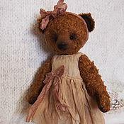 Куклы и игрушки ручной работы. Ярмарка Мастеров - ручная работа Мишка тедди Адель. Handmade.