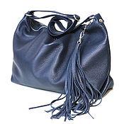 Сумки и аксессуары handmade. Livemaster - original item Bag with shoulder strap with internal pocket and tassel. Handmade.
