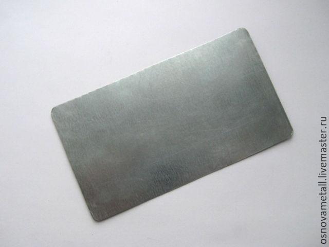 Металлические основы для браслетов 9см широкие прямоугольные, Фурнитура, Каменск-Шахтинский, Фото №1