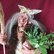 Куклы и игрушки ручной работы. Ярмарка Мастеров - ручная работа Баба-Яга с травками. Handmade.
