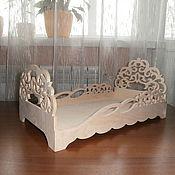Материалы для творчества handmade. Livemaster - original item Doll crib No. 415. Handmade.