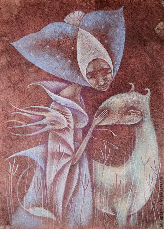 Сказочная картина Картина фэнтези Сказочная Дева