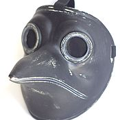 Одежда ручной работы. Ярмарка Мастеров - ручная работа Маска Чумного Доктора маска Доктора Чумы (Plague Doctor mask). Handmade.