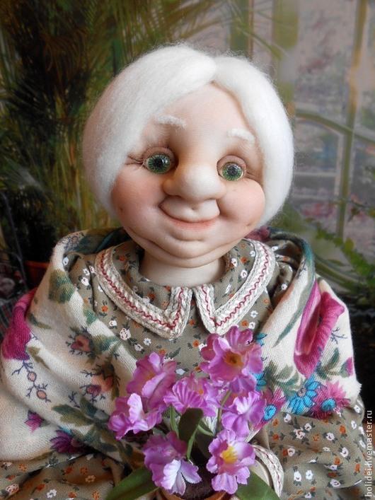 Человечки ручной работы. Ярмарка Мастеров - ручная работа. Купить Бабушка  МАША- хранительница дома. Handmade. Кукла ручной работы