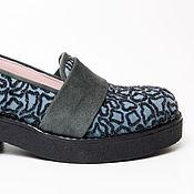 Обувь ручной работы. Ярмарка Мастеров - ручная работа Лоферы Tess Flok. Handmade.