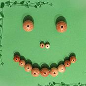 Материалы для творчества ручной работы. Ярмарка Мастеров - ручная работа Можжевеловые бусины. Handmade.