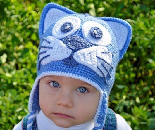 Шапка медведь, веселые шапки, смешные шапки для
