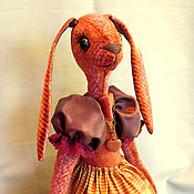 Куклы и игрушки ручной работы. Ярмарка Мастеров - ручная работа зая Сусанна. Handmade.