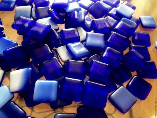 Другие виды рукоделия ручной работы. Ярмарка Мастеров - ручная работа. Купить Мозаика для творчества, насыщенный синий. Handmade. Синий