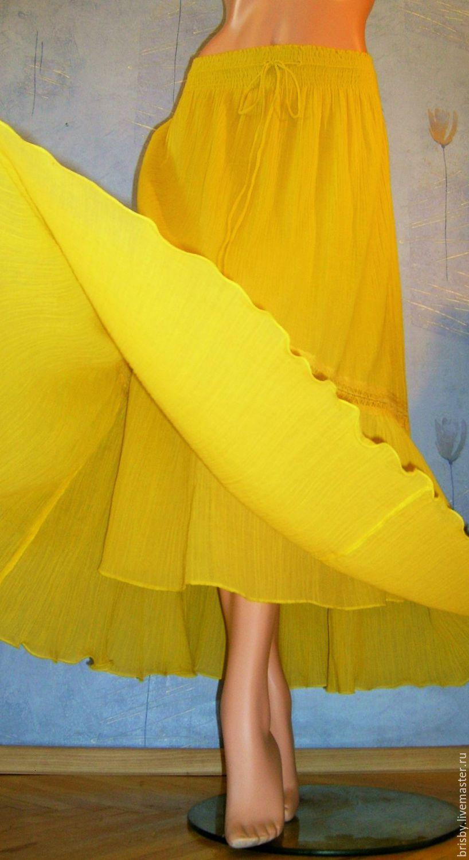 Юбки и платья из марлевки