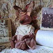 Куклы и игрушки ручной работы. Ярмарка Мастеров - ручная работа Зайка Роузи. Handmade.