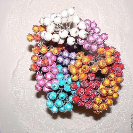 Открытки и скрапбукинг ручной работы. Ярмарка Мастеров - ручная работа. Купить Ягодки в сахарной обсыпке,7 цветов. Handmade.