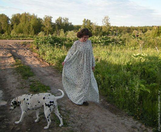 """Для будущих и молодых мам ручной работы. Ярмарка Мастеров - ручная работа. Купить Платье """"Баба на самовар"""". Handmade. батист"""