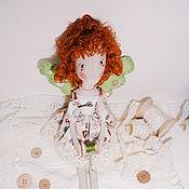 Куклы и игрушки ручной работы. Ярмарка Мастеров - ручная работа Кукла фейка-швейка Бусинка. Handmade.